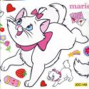 Marie cat stickers (JDC469)